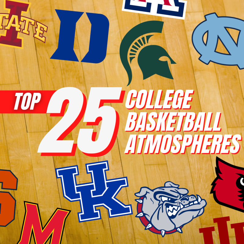 25 best college basketball atmospheres