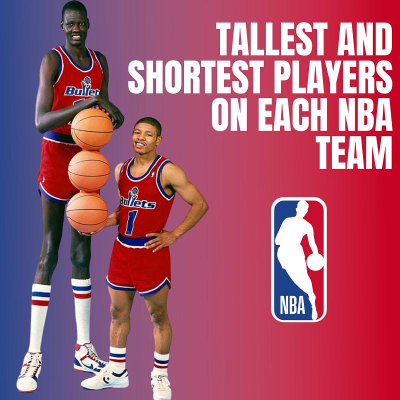 NBA tallest shortest players 2021-22