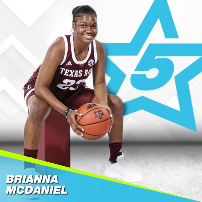 Brianna McDaniel Finds Positivity Despite Injury