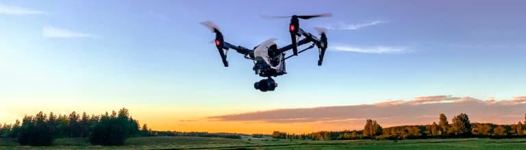 Drone taivaalla