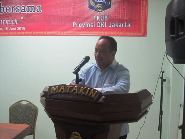 Ust. H. Robby Nurhadi Ketua Forum Kemitraan Religi Kamtibmas Polda Metro Jaya
