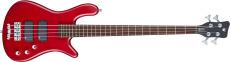 Rockbass Streamer Std 4 Burgundy Red Transparent Satin Passive Fretted