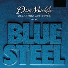 Dean Markley Electric Blue Steel   Custom Light 9-46