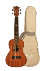 Flight Concert Ukulele Sapele m/bag