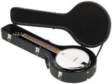 RockCase Standard Hardshell Case Banjo black Tolex