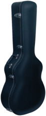 RockCase Standard Hardshell Case Classical Guitar curved Top curved shape black Tolex