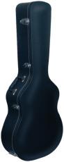 RockCase Standard Hardshell Case Classical Guitar curved Top curved shape black Tolex