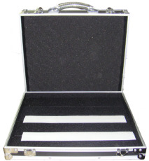 RockCase Flightcase Effects Pedalboard 44.5 x 39.5 x 11 cm Black