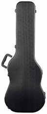 RockCase Standard ABS Case Electric Guitar curved black