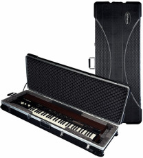 RockCase Premium ABS Case Keyboard small black 123 x 43 x 15 cm