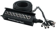 RockCable Multicore Cable + Stage Box 8 x Send 15 m / 49.2 ft.