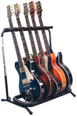 RockStand Multiple Guitar Rack Stand for 5 Electric Guitars / Basses