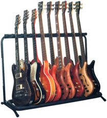 RockStand Multiple Guitar Rack Stand for 9 Electric Guitars / Basses