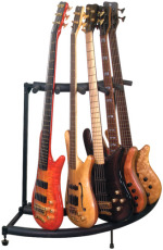 RockStand Multiple Guitar Corner Stand for 5 Electric Guitars / Basses Flat Pack