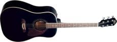 Oscar Schmidt Western Gitarr Gran/Mahogny Black