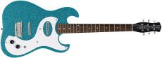 Danelectro 63 Guitar Turquoise Metal Flake