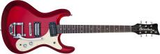 Danelectro 64 Guitar Red Metallic