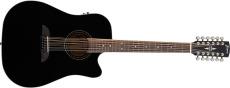 Framus FD 14 S Solid Black High Polish + EQ (12 String)