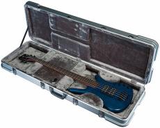 RockCase ABS Premium Electric Bass rectangular silver