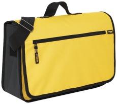 Student Rockbag notväska gul/svart