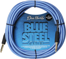 Dean Markley  Instrument Cable 3m straight-straight Blue Woven Cryo Treated