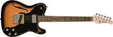 Jay Turser Gitarr Single Cutaway Custom F-hole, Tobacco Sbst