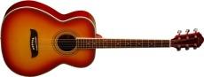 Oscar Schmidt Western Gitarr Gran/Mahogny Cherry Sunburst