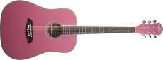 Oscar Schmidt 3/4 Western Gitarr Gran/Catalpa Pink