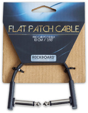 RockBoard Flat Patch Cable Black 10 cm