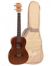 Flight Bariton Ukulele Mahogny m/pickup & bag