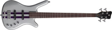 Warwick Rockbass Corvette Basic 4 Racing Silver Pass.JJ Fretted