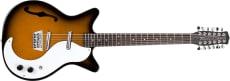 Danelectro 12-string Guitar F-hole Tobacco Sunburst