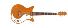 Danelectro 59 M NOS Plus Guitar Orange Metal Flake