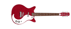Danelectro 59 M NOS Plus Guitar Red Metal Flake