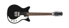 Danelectro 59X 12-string Guitar Black