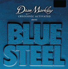 Dean Markley Electric Blue Steel   Medium 11-52
