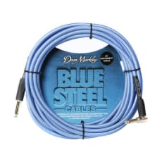 Dean Markley  Instrument Cable 3m straight-angeled Blue Woven Cryo Treated