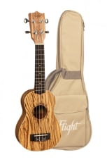 Flight Sopran Ukulele Zebrano m/bag