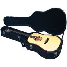 RockCase Standard Hardshell Case Acoustic Guitar black Tolex