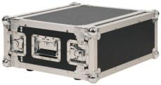 RockCase Professional Flightcase Rack 4U shallow