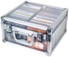DJ Transparent Case för 50 CD