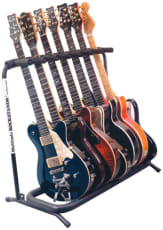 RockStand Multiple Guitar Rack Stand for 7 Electric Guitars / Basses