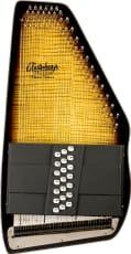 Oscar Schmidt Auto Harp 21 Chord Flame Top Electric Tobacco Sbst