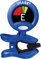 SNARK® Clip-On Chromatic Guitar Tuner (Blue)