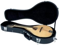 RockCase Standard Hardshell Case Mandolin small curved shape black Tolex