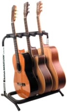 RockStand Multiple Guitar Rack Stand for 3 Classical or Acoustic Guitars / Basses