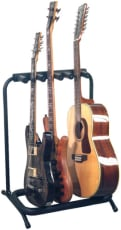 RockStand Multiple Guitar Rack Stand for 2 Electric + 1 Classical or Acoustic Guitar / Bass