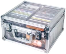 DJ Transparent Case för 50 CD