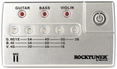 Rocktuner Auto 4-str Bas, Gitarr, Violin Jack+Mic