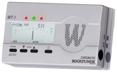 RockTuner Chromatic Tuner <br> Calibration Function + Jack / Tone / Mic operation <br>